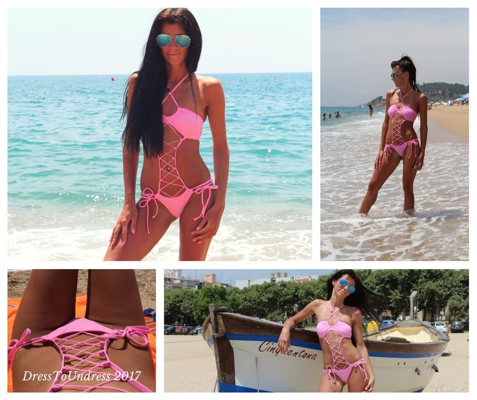 Модный розовый цвет в фотогалереи покупателей DressToUndress.